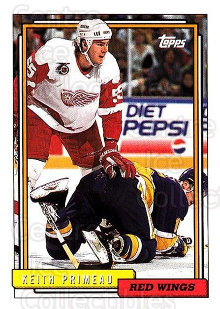 1992-93 Topps #99 Keith Primeau<br/>4 In Stock - $1.00 each - <a href=https://centericecollectibles.foxycart.com/cart?name=1992-93%20Topps%20%2399%20Keith%20Primeau...&price=$1.00&code=260688 class=foxycart> Buy it now! </a>