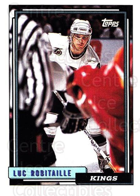 1992-93 Topps #101 Luc Robitaille<br/>5 In Stock - $1.00 each - <a href=https://centericecollectibles.foxycart.com/cart?name=1992-93%20Topps%20%23101%20Luc%20Robitaille...&price=$1.00&code=260690 class=foxycart> Buy it now! </a>