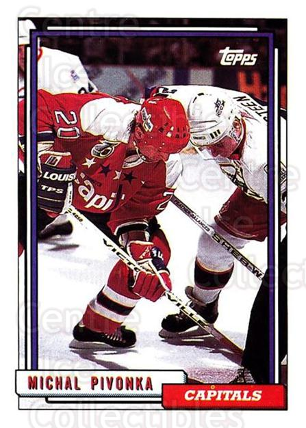 1992-93 Topps #107 Michal Pivonka<br/>5 In Stock - $1.00 each - <a href=https://centericecollectibles.foxycart.com/cart?name=1992-93%20Topps%20%23107%20Michal%20Pivonka...&price=$1.00&code=260696 class=foxycart> Buy it now! </a>