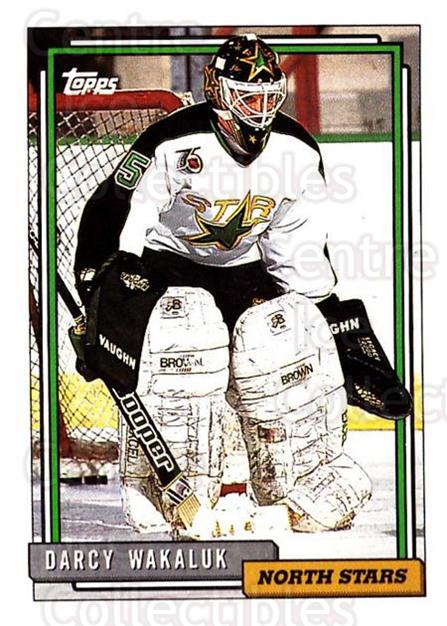 1992-93 Topps #108 Darcy Wakaluk<br/>5 In Stock - $1.00 each - <a href=https://centericecollectibles.foxycart.com/cart?name=1992-93%20Topps%20%23108%20Darcy%20Wakaluk...&price=$1.00&code=260697 class=foxycart> Buy it now! </a>