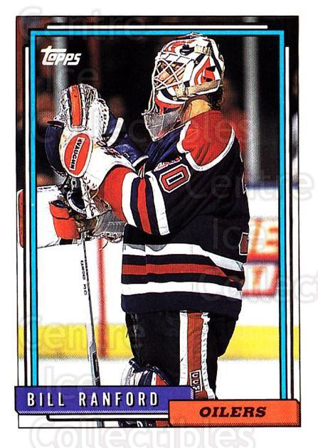 1992-93 Topps #126 Bill Ranford<br/>4 In Stock - $1.00 each - <a href=https://centericecollectibles.foxycart.com/cart?name=1992-93%20Topps%20%23126%20Bill%20Ranford...&price=$1.00&code=260715 class=foxycart> Buy it now! </a>