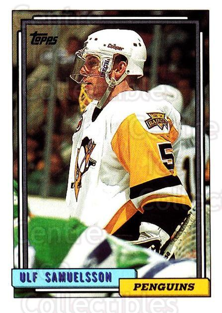 1992-93 Topps #127 Ulf Samuelsson<br/>5 In Stock - $1.00 each - <a href=https://centericecollectibles.foxycart.com/cart?name=1992-93%20Topps%20%23127%20Ulf%20Samuelsson...&price=$1.00&code=260716 class=foxycart> Buy it now! </a>