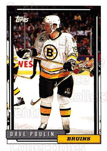 1992-93 Topps #155 Dave Poulin<br/>5 In Stock - $1.00 each - <a href=https://centericecollectibles.foxycart.com/cart?name=1992-93%20Topps%20%23155%20Dave%20Poulin...&price=$1.00&code=260744 class=foxycart> Buy it now! </a>