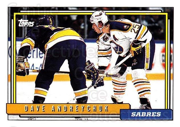 1992-93 Topps #164 Dave Andreychuk<br/>4 In Stock - $1.00 each - <a href=https://centericecollectibles.foxycart.com/cart?name=1992-93%20Topps%20%23164%20Dave%20Andreychuk...&price=$1.00&code=260753 class=foxycart> Buy it now! </a>