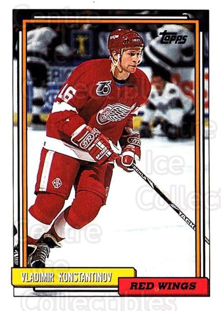 1992-93 Topps #165 Vladimir Konstantinov<br/>3 In Stock - $1.00 each - <a href=https://centericecollectibles.foxycart.com/cart?name=1992-93%20Topps%20%23165%20Vladimir%20Konsta...&price=$1.00&code=260754 class=foxycart> Buy it now! </a>
