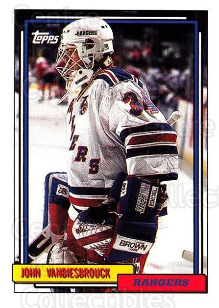 1992-93 Topps #169 John Vanbiesbrouck<br/>4 In Stock - $1.00 each - <a href=https://centericecollectibles.foxycart.com/cart?name=1992-93%20Topps%20%23169%20John%20Vanbiesbro...&price=$1.00&code=260758 class=foxycart> Buy it now! </a>