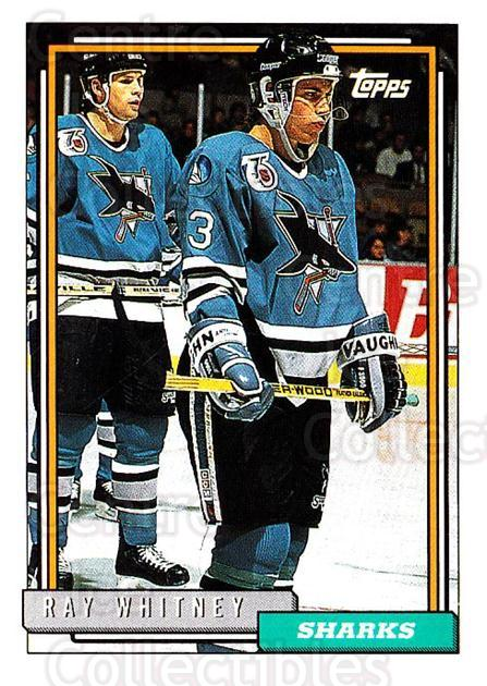 1992-93 Topps #205 Ray Whitney<br/>2 In Stock - $1.00 each - <a href=https://centericecollectibles.foxycart.com/cart?name=1992-93%20Topps%20%23205%20Ray%20Whitney...&quantity_max=2&price=$1.00&code=260794 class=foxycart> Buy it now! </a>