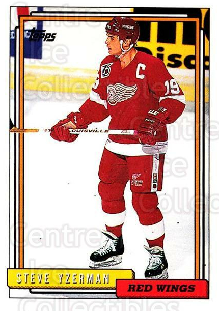 1992-93 Topps #207 Steve Yzerman<br/>3 In Stock - $1.00 each - <a href=https://centericecollectibles.foxycart.com/cart?name=1992-93%20Topps%20%23207%20Steve%20Yzerman...&price=$1.00&code=260796 class=foxycart> Buy it now! </a>
