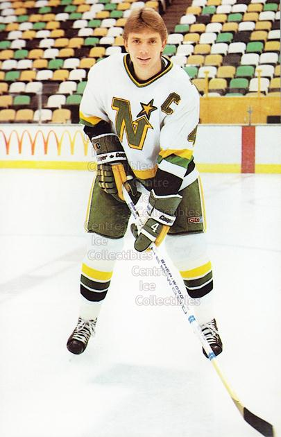 1984-85 Minnesota North Stars Postcards #8 Craig Hartsburg<br/>3 In Stock - $3.00 each - <a href=https://centericecollectibles.foxycart.com/cart?name=1984-85%20Minnesota%20North%20Stars%20Postcards%20%238%20Craig%20Hartsburg...&quantity_max=3&price=$3.00&code=26079 class=foxycart> Buy it now! </a>