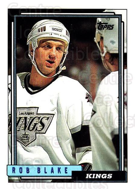 1992-93 Topps #211 Rob Blake<br/>5 In Stock - $1.00 each - <a href=https://centericecollectibles.foxycart.com/cart?name=1992-93%20Topps%20%23211%20Rob%20Blake...&price=$1.00&code=260800 class=foxycart> Buy it now! </a>