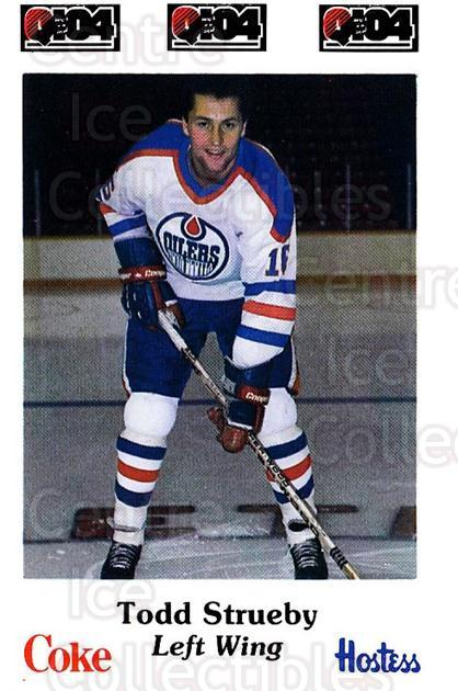 1984-85 Nova Scotia Oilers #10 Todd Strueby<br/>5 In Stock - $3.00 each - <a href=https://centericecollectibles.foxycart.com/cart?name=1984-85%20Nova%20Scotia%20Oilers%20%2310%20Todd%20Strueby...&quantity_max=5&price=$3.00&code=26080 class=foxycart> Buy it now! </a>