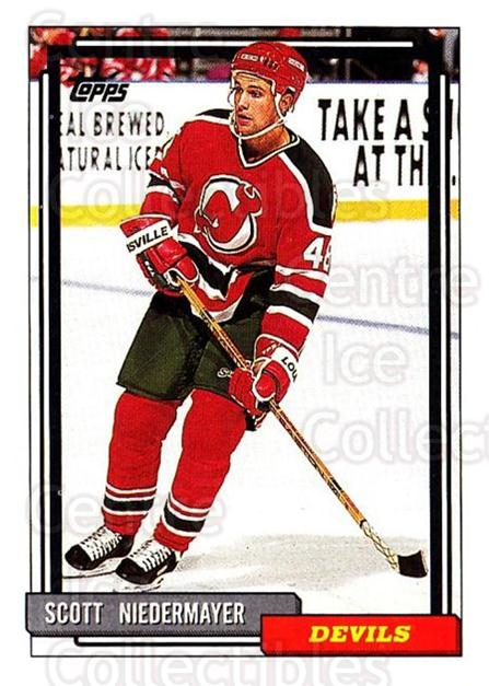 1992-93 Topps #223 Scott Niedermayer<br/>5 In Stock - $1.00 each - <a href=https://centericecollectibles.foxycart.com/cart?name=1992-93%20Topps%20%23223%20Scott%20Niedermay...&price=$1.00&code=260812 class=foxycart> Buy it now! </a>