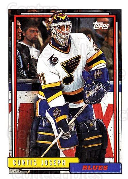 1992-93 Topps #237 Curtis Joseph<br/>5 In Stock - $1.00 each - <a href=https://centericecollectibles.foxycart.com/cart?name=1992-93%20Topps%20%23237%20Curtis%20Joseph...&price=$1.00&code=260826 class=foxycart> Buy it now! </a>