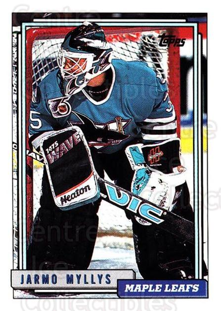 1992-93 Topps #251 Jarmo Myllys<br/>2 In Stock - $1.00 each - <a href=https://centericecollectibles.foxycart.com/cart?name=1992-93%20Topps%20%23251%20Jarmo%20Myllys...&price=$1.00&code=260840 class=foxycart> Buy it now! </a>