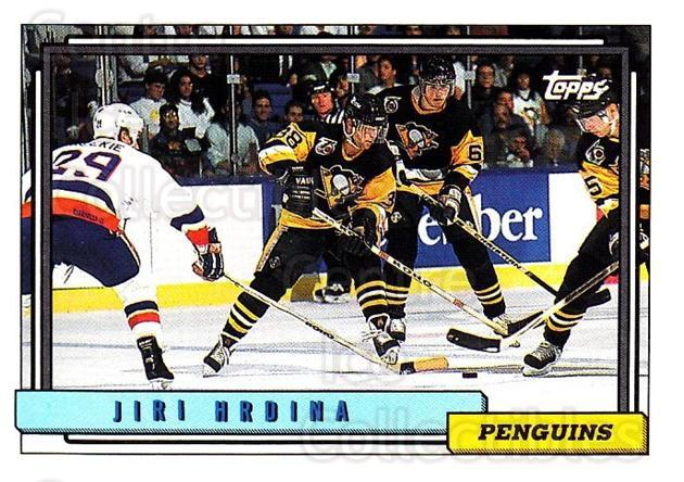 1992-93 Topps #272 Jiri Hrdina<br/>5 In Stock - $1.00 each - <a href=https://centericecollectibles.foxycart.com/cart?name=1992-93%20Topps%20%23272%20Jiri%20Hrdina...&price=$1.00&code=260861 class=foxycart> Buy it now! </a>