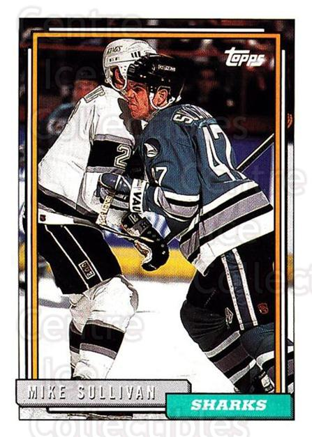1992-93 Topps #282 Mike Sullivan<br/>5 In Stock - $1.00 each - <a href=https://centericecollectibles.foxycart.com/cart?name=1992-93%20Topps%20%23282%20Mike%20Sullivan...&price=$1.00&code=260871 class=foxycart> Buy it now! </a>