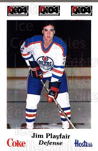 1984-85 Nova Scotia Oilers #17 Jim Playfair<br/>3 In Stock - $3.00 each - <a href=https://centericecollectibles.foxycart.com/cart?name=1984-85%20Nova%20Scotia%20Oilers%20%2317%20Jim%20Playfair...&quantity_max=3&price=$3.00&code=26087 class=foxycart> Buy it now! </a>