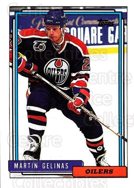 1992-93 Topps #292 Martin Gelinas<br/>5 In Stock - $1.00 each - <a href=https://centericecollectibles.foxycart.com/cart?name=1992-93%20Topps%20%23292%20Martin%20Gelinas...&price=$1.00&code=260881 class=foxycart> Buy it now! </a>