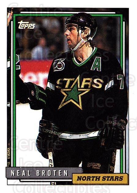 1992-93 Topps #309 Neal Broten<br/>4 In Stock - $1.00 each - <a href=https://centericecollectibles.foxycart.com/cart?name=1992-93%20Topps%20%23309%20Neal%20Broten...&price=$1.00&code=260898 class=foxycart> Buy it now! </a>