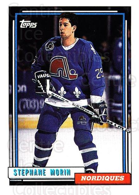 1992-93 Topps #316 Stephane Morin<br/>4 In Stock - $1.00 each - <a href=https://centericecollectibles.foxycart.com/cart?name=1992-93%20Topps%20%23316%20Stephane%20Morin...&price=$1.00&code=260905 class=foxycart> Buy it now! </a>