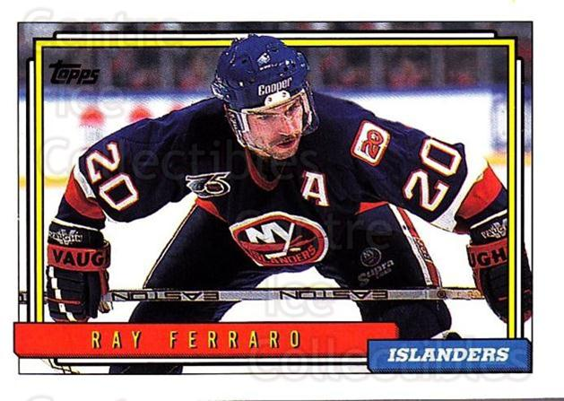 1992-93 Topps #324 Ray Ferraro<br/>5 In Stock - $1.00 each - <a href=https://centericecollectibles.foxycart.com/cart?name=1992-93%20Topps%20%23324%20Ray%20Ferraro...&price=$1.00&code=260913 class=foxycart> Buy it now! </a>