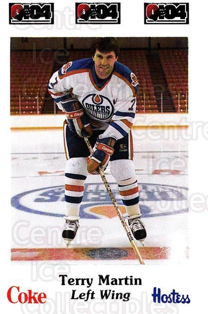 1984-85 Nova Scotia Oilers #24 Terry Martin<br/>7 In Stock - $3.00 each - <a href=https://centericecollectibles.foxycart.com/cart?name=1984-85%20Nova%20Scotia%20Oilers%20%2324%20Terry%20Martin...&quantity_max=7&price=$3.00&code=26094 class=foxycart> Buy it now! </a>