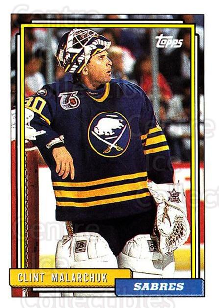 1992-93 Topps #363 Clint Malarchuk<br/>5 In Stock - $1.00 each - <a href=https://centericecollectibles.foxycart.com/cart?name=1992-93%20Topps%20%23363%20Clint%20Malarchuk...&price=$1.00&code=260952 class=foxycart> Buy it now! </a>
