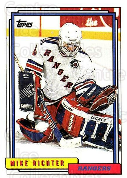 1992-93 Topps #367 Mike Richter<br/>5 In Stock - $1.00 each - <a href=https://centericecollectibles.foxycart.com/cart?name=1992-93%20Topps%20%23367%20Mike%20Richter...&price=$1.00&code=260956 class=foxycart> Buy it now! </a>