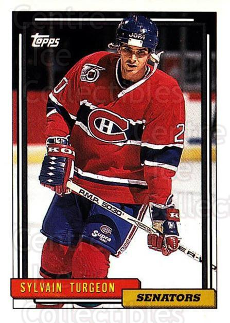1992-93 Topps #375 Sylvain Turgeon<br/>4 In Stock - $1.00 each - <a href=https://centericecollectibles.foxycart.com/cart?name=1992-93%20Topps%20%23375%20Sylvain%20Turgeon...&price=$1.00&code=260964 class=foxycart> Buy it now! </a>