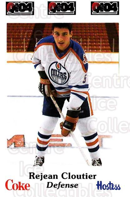 1984-85 Nova Scotia Oilers #5 Rejean Cloutier<br/>4 In Stock - $3.00 each - <a href=https://centericecollectibles.foxycart.com/cart?name=1984-85%20Nova%20Scotia%20Oilers%20%235%20Rejean%20Cloutier...&quantity_max=4&price=$3.00&code=26099 class=foxycart> Buy it now! </a>