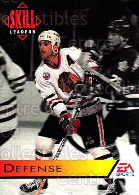 1994 EA Sports #186 Chris Chelios<br/>4 In Stock - $1.00 each - <a href=https://centericecollectibles.foxycart.com/cart?name=1994%20EA%20Sports%20%23186%20Chris%20Chelios...&quantity_max=4&price=$1.00&code=2609 class=foxycart> Buy it now! </a>