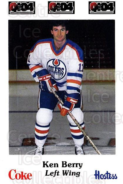 1984-85 Nova Scotia Oilers #8 Ken Berry<br/>1 In Stock - $3.00 each - <a href=https://centericecollectibles.foxycart.com/cart?name=1984-85%20Nova%20Scotia%20Oilers%20%238%20Ken%20Berry...&quantity_max=1&price=$3.00&code=26102 class=foxycart> Buy it now! </a>