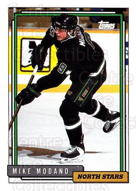 1992-93 Topps #441 Mike Modano<br/>5 In Stock - $1.00 each - <a href=https://centericecollectibles.foxycart.com/cart?name=1992-93%20Topps%20%23441%20Mike%20Modano...&quantity_max=5&price=$1.00&code=261030 class=foxycart> Buy it now! </a>