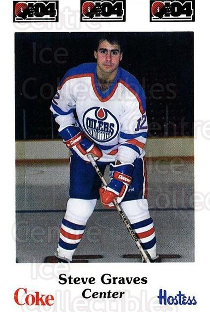 1984-85 Nova Scotia Oilers #9 Steve Graves<br/>4 In Stock - $3.00 each - <a href=https://centericecollectibles.foxycart.com/cart?name=1984-85%20Nova%20Scotia%20Oilers%20%239%20Steve%20Graves...&quantity_max=4&price=$3.00&code=26103 class=foxycart> Buy it now! </a>