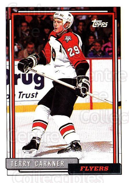 1992-93 Topps #465 Terry Carkner<br/>4 In Stock - $1.00 each - <a href=https://centericecollectibles.foxycart.com/cart?name=1992-93%20Topps%20%23465%20Terry%20Carkner...&quantity_max=4&price=$1.00&code=261054 class=foxycart> Buy it now! </a>