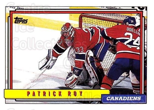 1992-93 Topps #508 Patrick Roy<br/>1 In Stock - $2.00 each - <a href=https://centericecollectibles.foxycart.com/cart?name=1992-93%20Topps%20%23508%20Patrick%20Roy...&quantity_max=1&price=$2.00&code=261097 class=foxycart> Buy it now! </a>