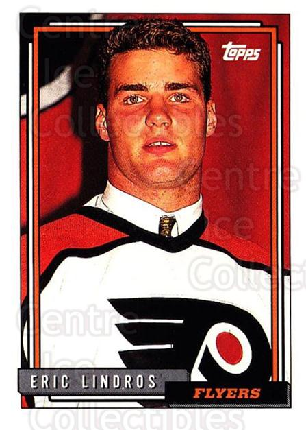 1992-93 Topps #529 Eric Lindros<br/>3 In Stock - $1.00 each - <a href=https://centericecollectibles.foxycart.com/cart?name=1992-93%20Topps%20%23529%20Eric%20Lindros...&quantity_max=3&price=$1.00&code=261118 class=foxycart> Buy it now! </a>