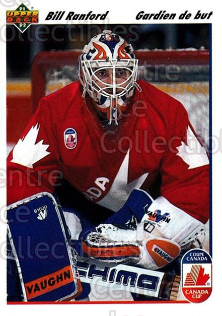 1991-92 Upper Deck French #10 Bill Ranford<br/>12 In Stock - $1.00 each - <a href=https://centericecollectibles.foxycart.com/cart?name=1991-92%20Upper%20Deck%20French%20%2310%20Bill%20Ranford...&quantity_max=12&price=$1.00&code=261629 class=foxycart> Buy it now! </a>