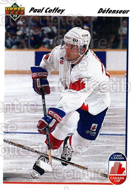 1991-92 Upper Deck French #11 Paul Coffey<br/>14 In Stock - $1.00 each - <a href=https://centericecollectibles.foxycart.com/cart?name=1991-92%20Upper%20Deck%20French%20%2311%20Paul%20Coffey...&quantity_max=14&price=$1.00&code=261630 class=foxycart> Buy it now! </a>