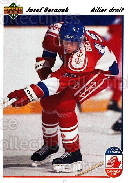 1991-92 Upper Deck French #17 Josef Beranek<br/>13 In Stock - $1.00 each - <a href=https://centericecollectibles.foxycart.com/cart?name=1991-92%20Upper%20Deck%20French%20%2317%20Josef%20Beranek...&quantity_max=13&price=$1.00&code=261636 class=foxycart> Buy it now! </a>