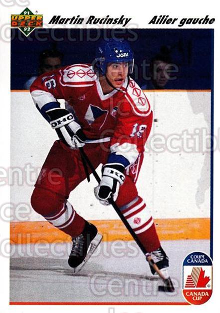 1991-92 Upper Deck French #19 Martin Rucinsky<br/>14 In Stock - $1.00 each - <a href=https://centericecollectibles.foxycart.com/cart?name=1991-92%20Upper%20Deck%20French%20%2319%20Martin%20Rucinsky...&quantity_max=14&price=$1.00&code=261638 class=foxycart> Buy it now! </a>