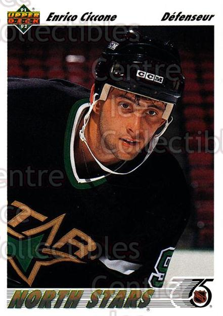 1991-92 Upper Deck French #51 Enrico Ciccone<br/>13 In Stock - $1.00 each - <a href=https://centericecollectibles.foxycart.com/cart?name=1991-92%20Upper%20Deck%20French%20%2351%20Enrico%20Ciccone...&quantity_max=13&price=$1.00&code=261670 class=foxycart> Buy it now! </a>