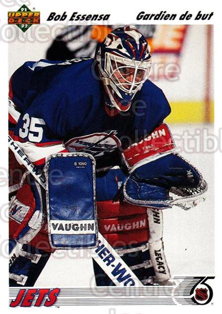 1991-92 Upper Deck French #101 Bob Essensa<br/>14 In Stock - $1.00 each - <a href=https://centericecollectibles.foxycart.com/cart?name=1991-92%20Upper%20Deck%20French%20%23101%20Bob%20Essensa...&quantity_max=14&price=$1.00&code=261720 class=foxycart> Buy it now! </a>