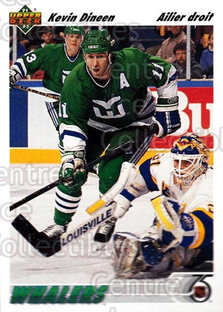 1991-92 Upper Deck French #105 Kevin Dineen<br/>14 In Stock - $1.00 each - <a href=https://centericecollectibles.foxycart.com/cart?name=1991-92%20Upper%20Deck%20French%20%23105%20Kevin%20Dineen...&quantity_max=14&price=$1.00&code=261724 class=foxycart> Buy it now! </a>