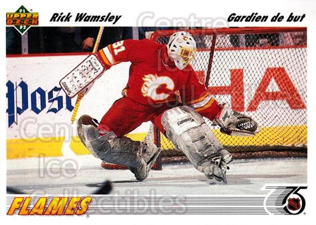 1991-92 Upper Deck French #130 Rick Wamsley<br/>14 In Stock - $1.00 each - <a href=https://centericecollectibles.foxycart.com/cart?name=1991-92%20Upper%20Deck%20French%20%23130%20Rick%20Wamsley...&quantity_max=14&price=$1.00&code=261749 class=foxycart> Buy it now! </a>