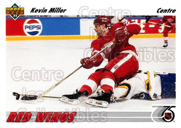 1991-92 Upper Deck French #142 Kevin Miller<br/>14 In Stock - $1.00 each - <a href=https://centericecollectibles.foxycart.com/cart?name=1991-92%20Upper%20Deck%20French%20%23142%20Kevin%20Miller...&quantity_max=14&price=$1.00&code=261761 class=foxycart> Buy it now! </a>