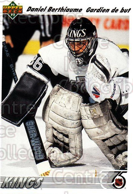1991-92 Upper Deck French #150 Daniel Berthiaume<br/>10 In Stock - $1.00 each - <a href=https://centericecollectibles.foxycart.com/cart?name=1991-92%20Upper%20Deck%20French%20%23150%20Daniel%20Berthiau...&quantity_max=10&price=$1.00&code=261769 class=foxycart> Buy it now! </a>