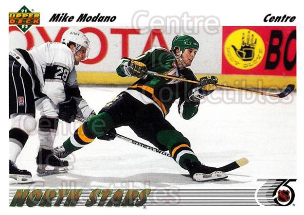 1991-92 Upper Deck French #160 Mike Modano<br/>13 In Stock - $1.00 each - <a href=https://centericecollectibles.foxycart.com/cart?name=1991-92%20Upper%20Deck%20French%20%23160%20Mike%20Modano...&quantity_max=13&price=$1.00&code=261779 class=foxycart> Buy it now! </a>