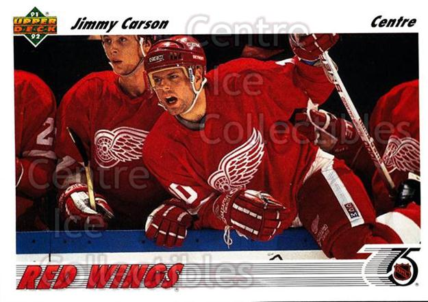 1991-92 Upper Deck French #161 Jimmy Carson<br/>14 In Stock - $1.00 each - <a href=https://centericecollectibles.foxycart.com/cart?name=1991-92%20Upper%20Deck%20French%20%23161%20Jimmy%20Carson...&quantity_max=14&price=$1.00&code=261780 class=foxycart> Buy it now! </a>