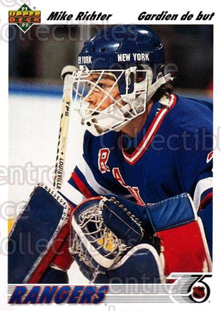 1991-92 Upper Deck French #175 Mike Richter<br/>13 In Stock - $1.00 each - <a href=https://centericecollectibles.foxycart.com/cart?name=1991-92%20Upper%20Deck%20French%20%23175%20Mike%20Richter...&quantity_max=13&price=$1.00&code=261794 class=foxycart> Buy it now! </a>
